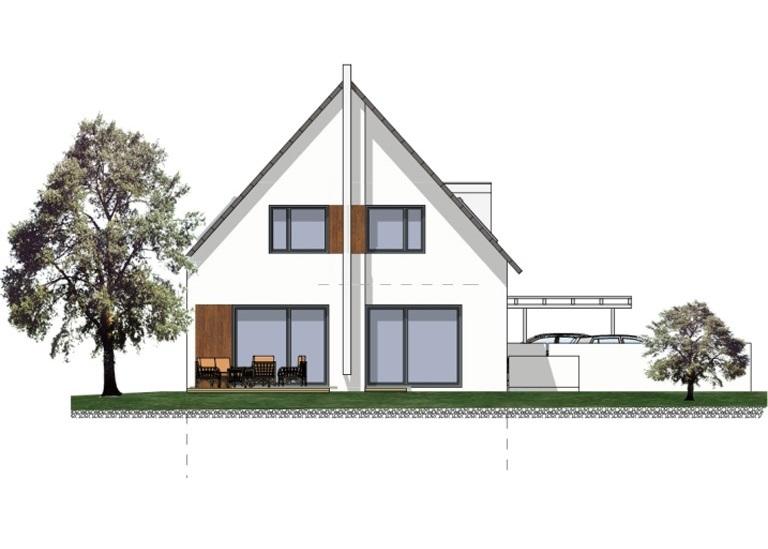 Planung efh in forchheim l mmlein architektur for Planung einfamilienhaus