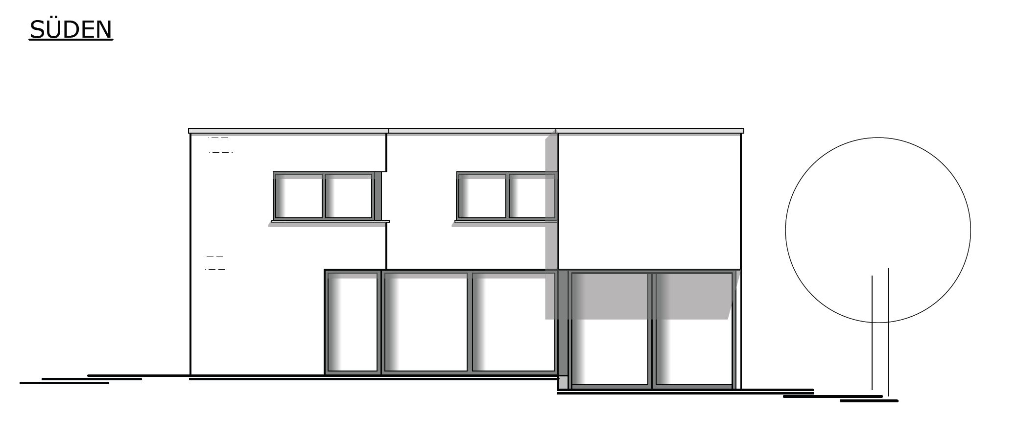 Bauhaus planung erlangen architekt l mmlein architektur for Architekt planung