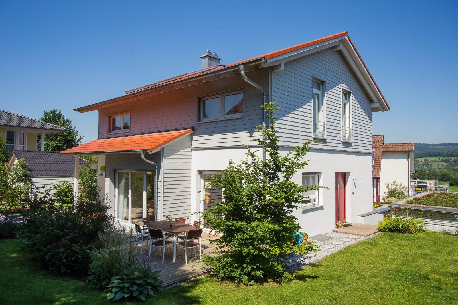 einfamilienwohnhaus kfw 40 in kirchehrenbach l mmlein architektur. Black Bedroom Furniture Sets. Home Design Ideas